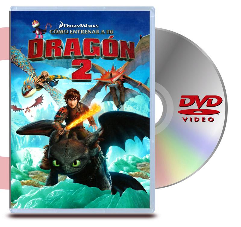 DVD Como entrenar a tu Dragón 2