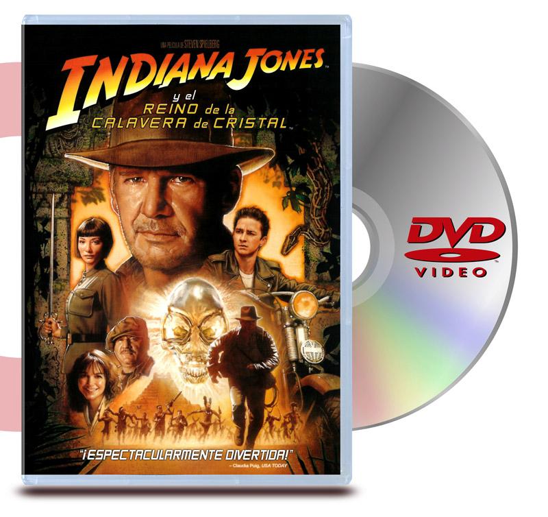 DVD Indiana Jones 4: El Reino de la Calavera de Cristal