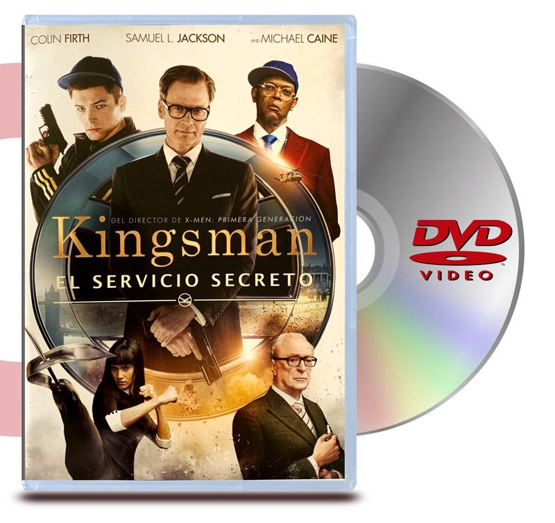 DVD Kingsman El Servicio Secreto