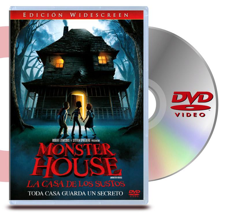 DVD La Casa de los Sustos