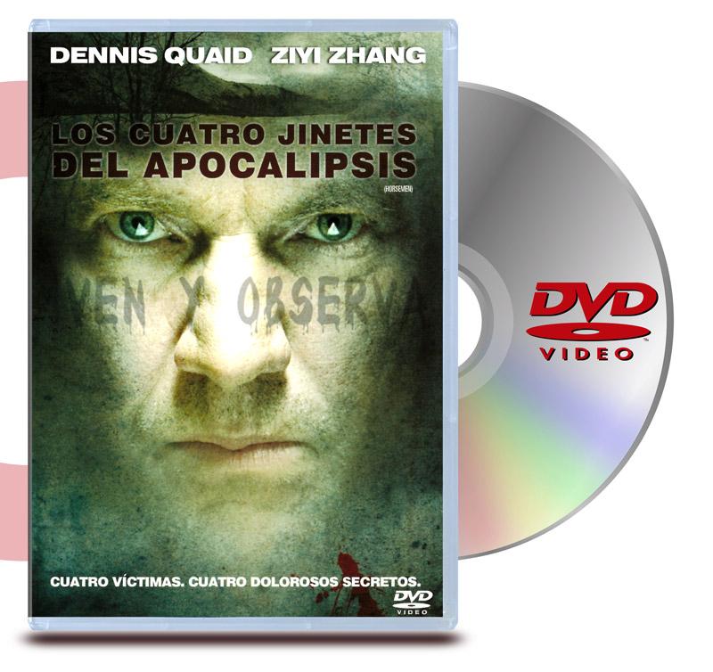 DVD Los Cuatro Jinetes del Apocalípsis