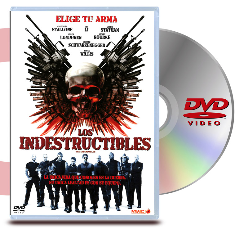 DVD Los Indestructibles