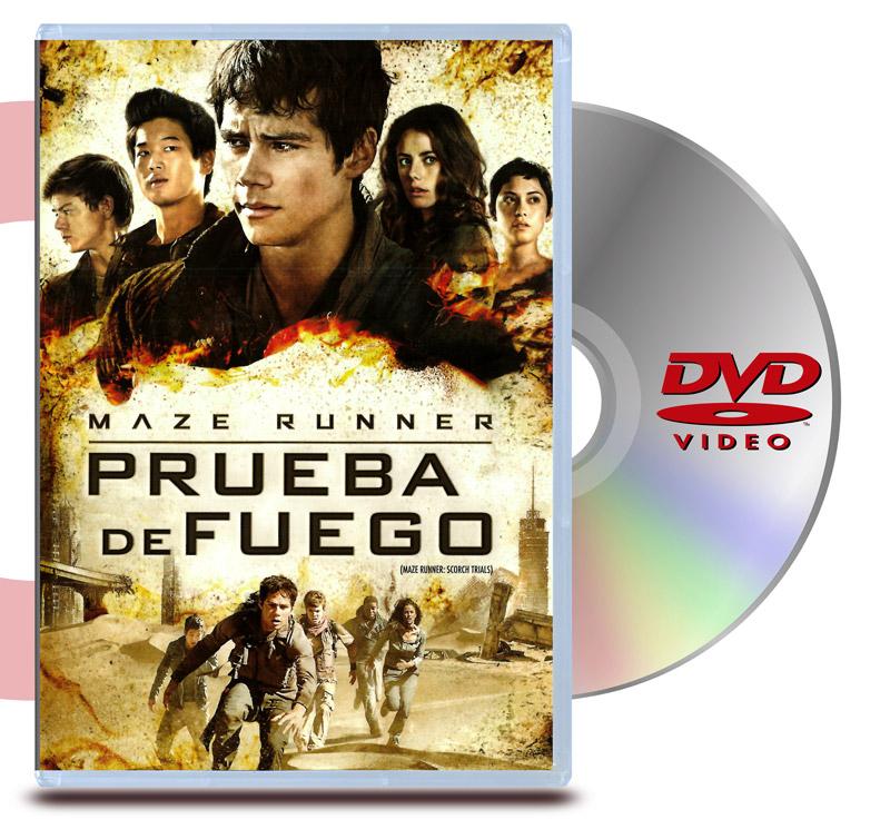DVD Maze Runner : Prueba de Fuego