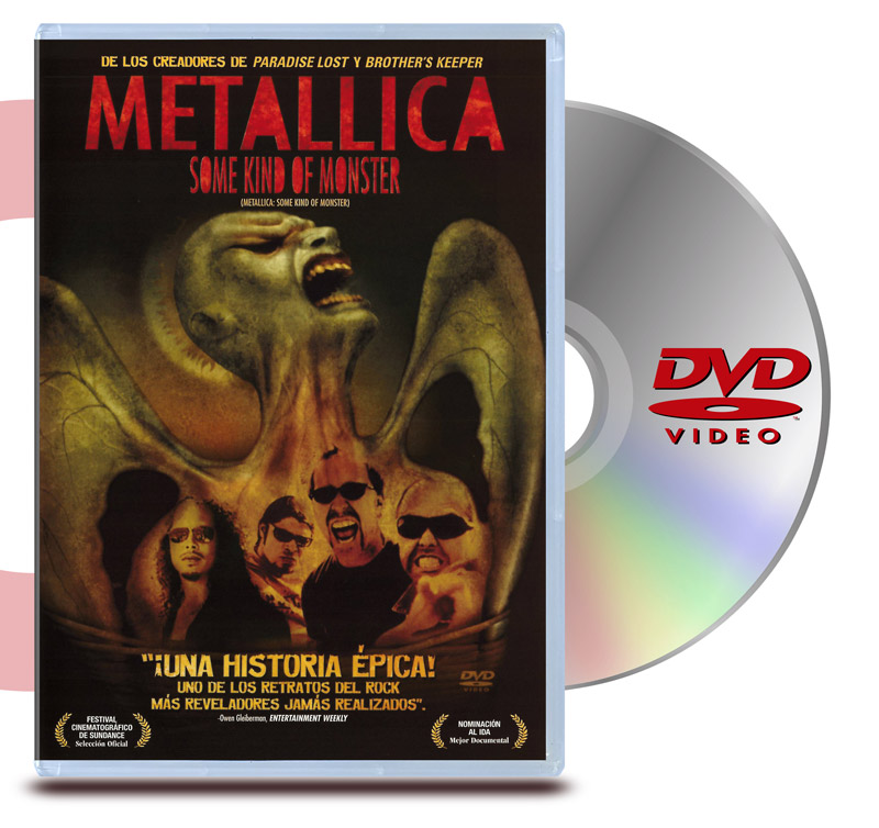 DVD Metallica : Some Kind of Monster ( 2 Discos)