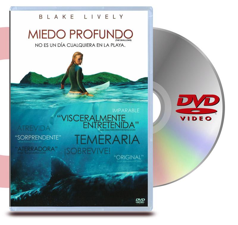 DVD Miedo Profundo