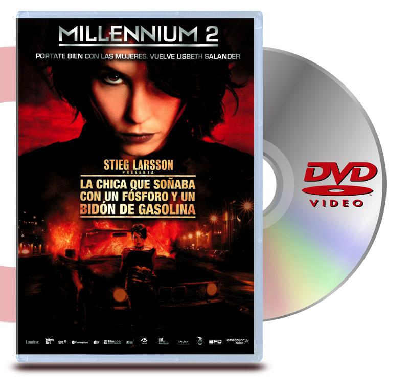 DVD Millennium 2: La Chica que Soñaba con un Fósforo