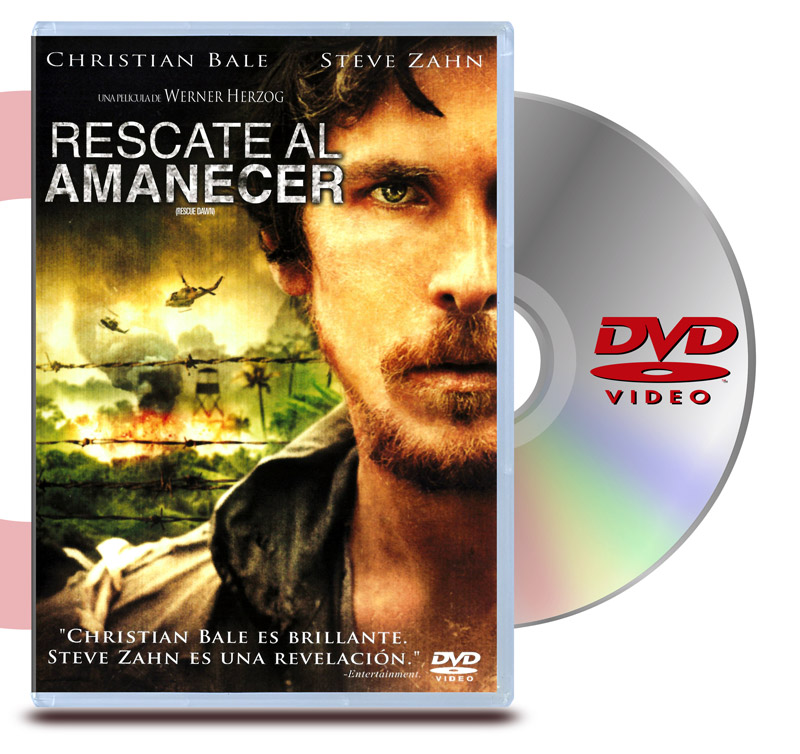 DVD Rescate al Amanecer