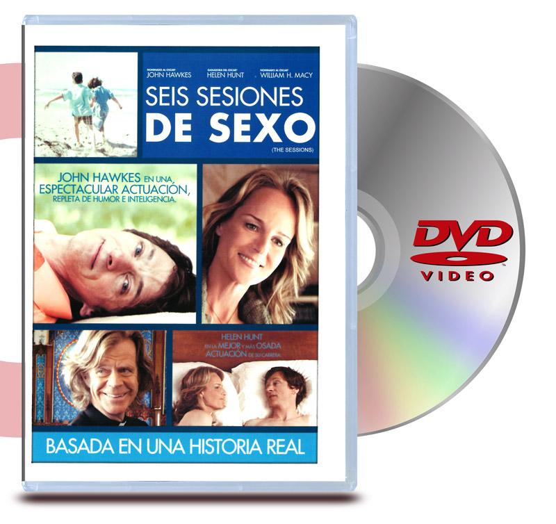 DVD Seis Sesiones de Sexo