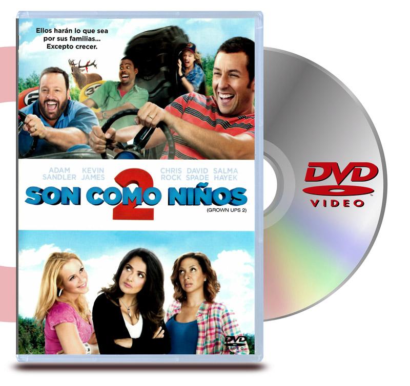 DVD Son Como Niños 2