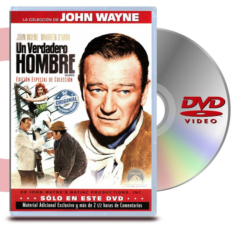 DVD Un Verdadero Hombre