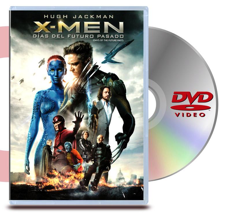 DVD X Men Días del Futuro Pasado