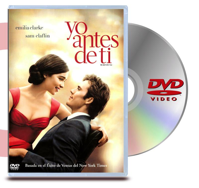 DVD Yo Antes de Tí