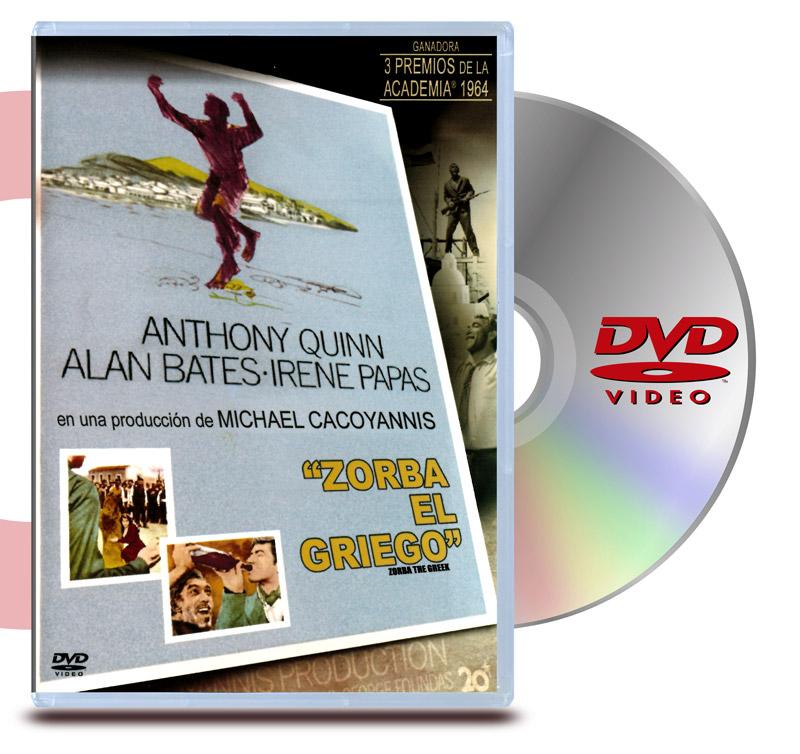 DVD Zorba El Griego