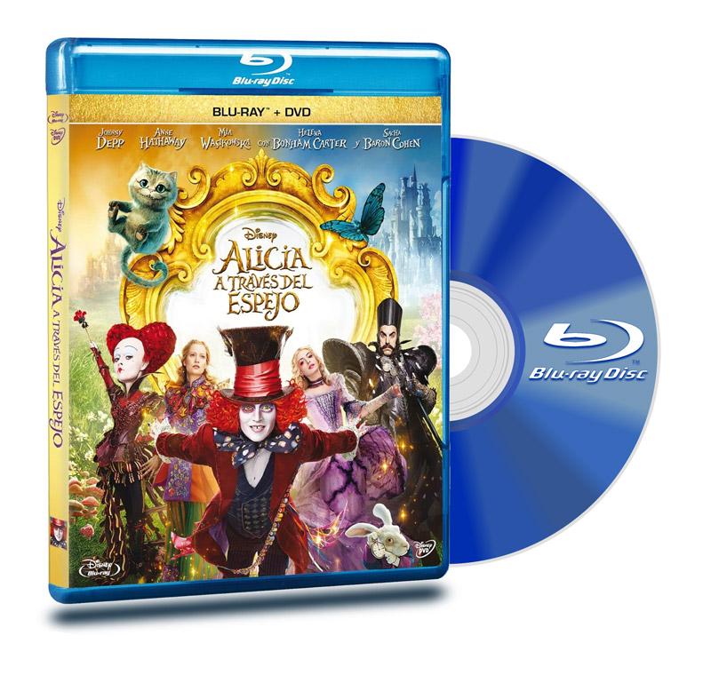 Blu Ray Alicia A Través Del Espejo