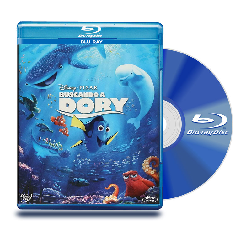 Blu Ray Buscando A Dory + DVD