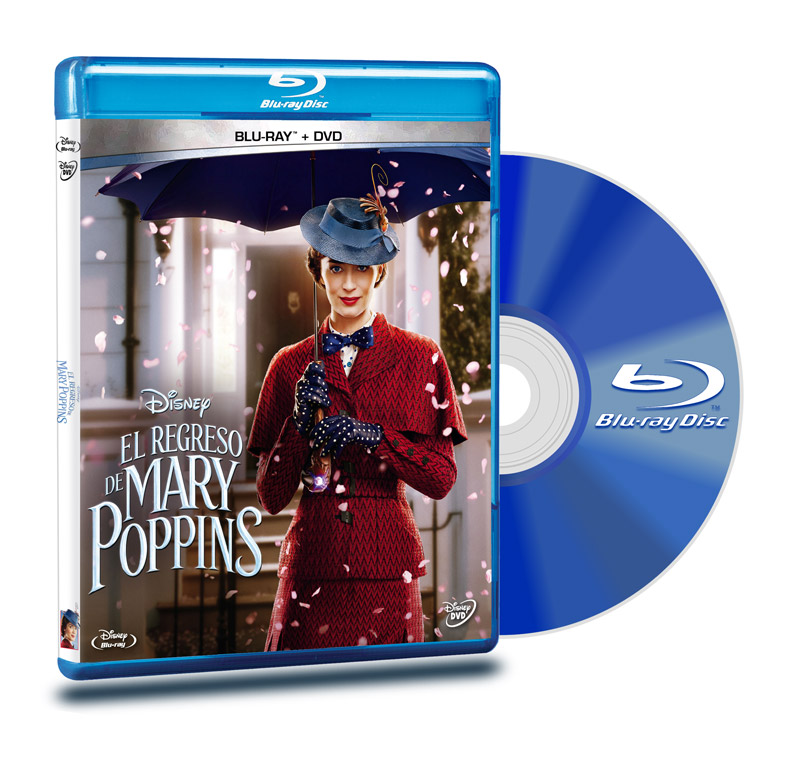 Blu Ray El Regreso De Mary Poppins BD+DVD