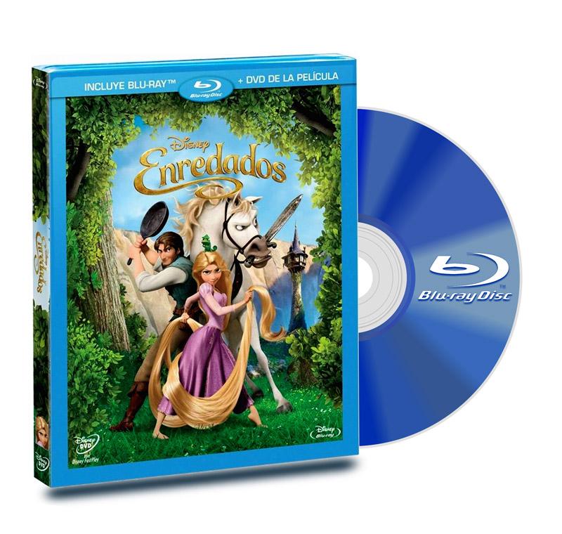 Blu Ray Enredados + DVD