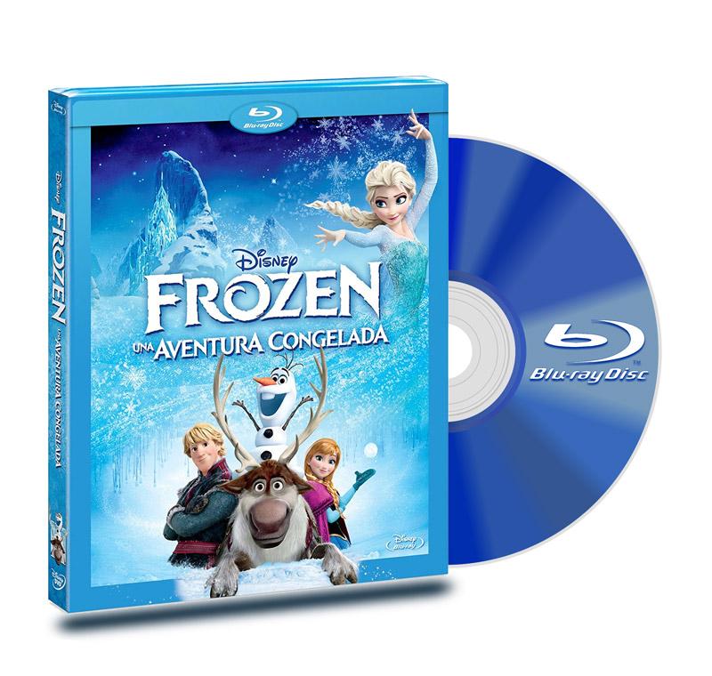 Blu Ray Frozen: Una Aventura Congelada