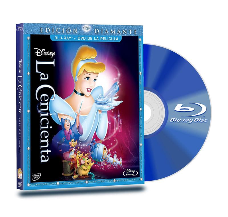 Blu Ray La Cenicienta BD+DVD