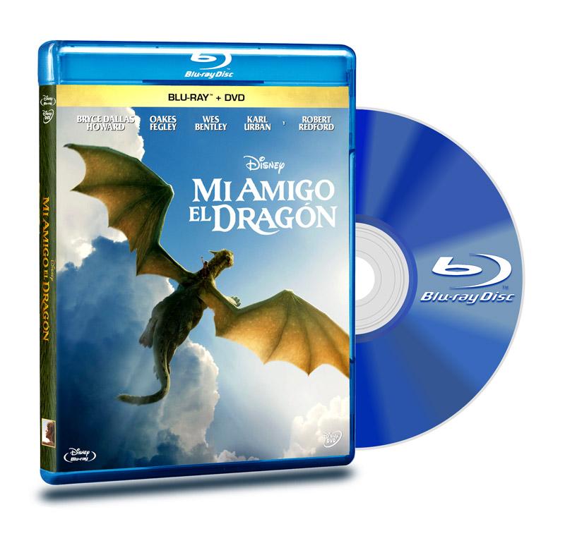 Blu Ray Mi Amigo El Dragon BD+DVD