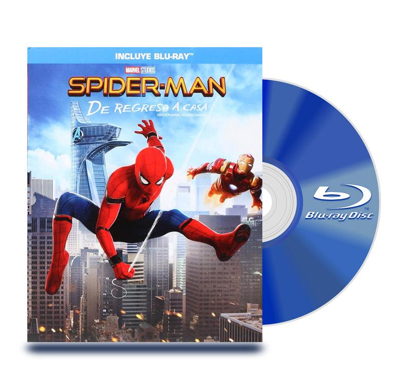 Blu Ray Spider-Man: De Regreso A Casa