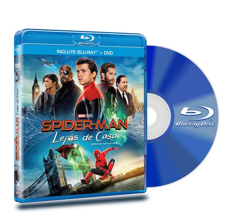 Blu Ray Spider-man: Lejos De Casa BD+DVD