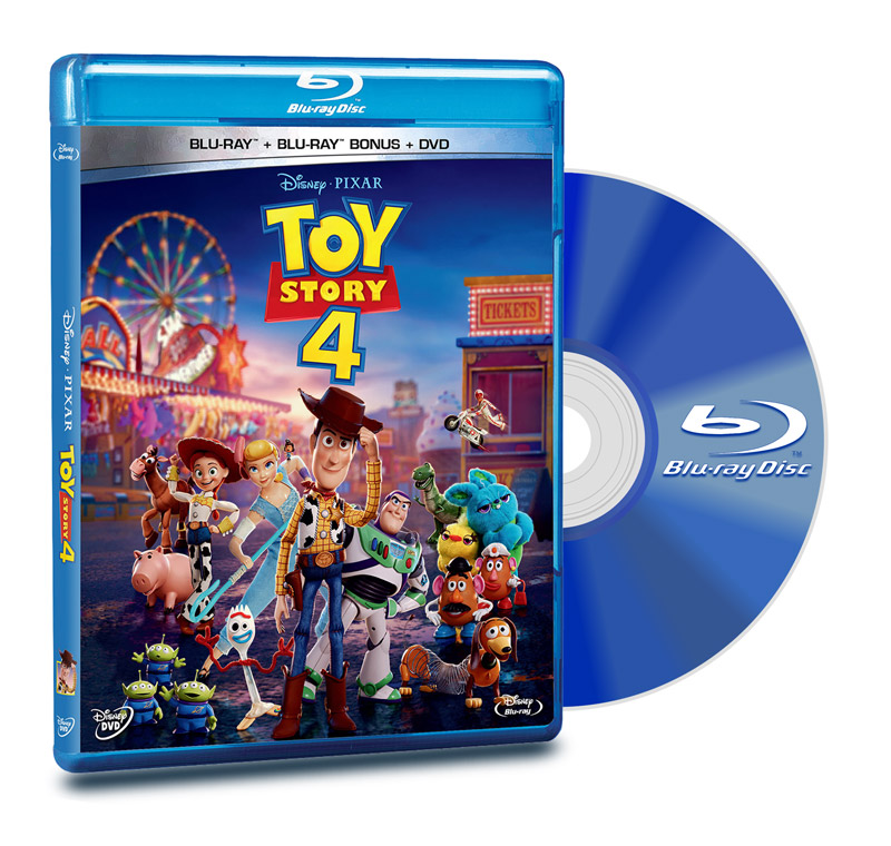 Blu Ray Toy Story 4 + DVD + Blu Ray Bonus