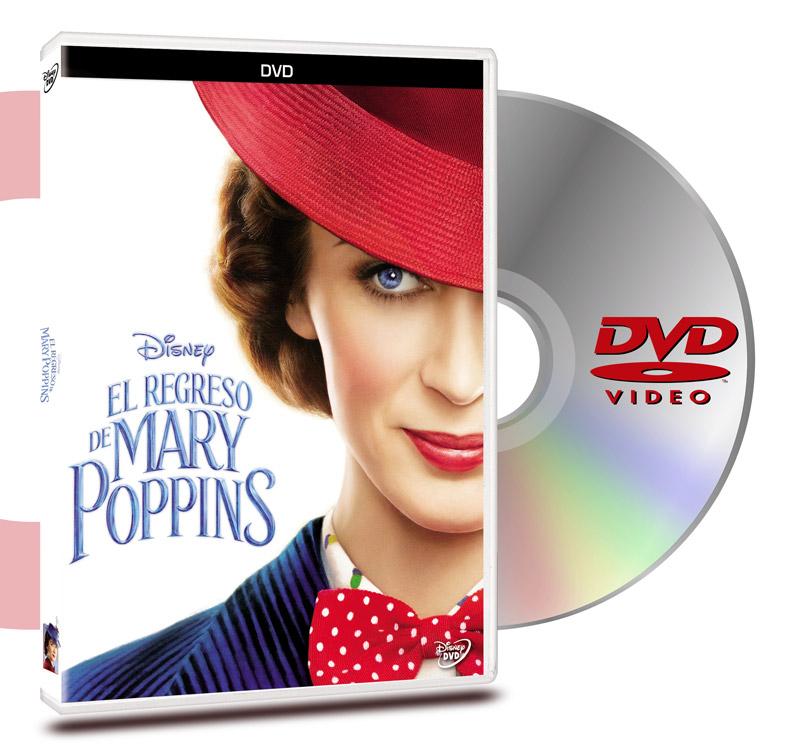 DVD El Regreso De Mary Poppins