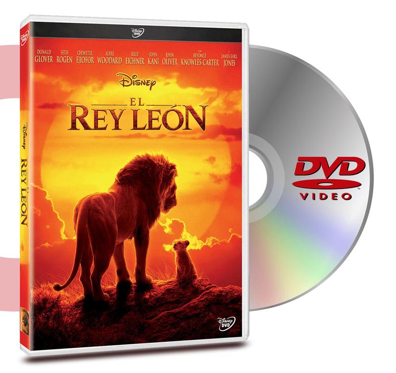 DVD El Rey León (Live Action)