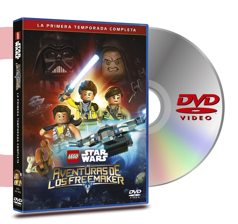 DVD Lego Star Wars Temp1: Aventuras De Los Freemaker (2 Discos)