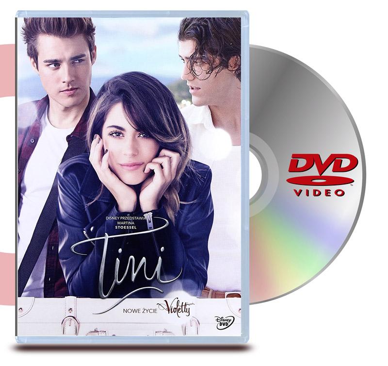 DVD Tini El Gran Cambio De Violeta