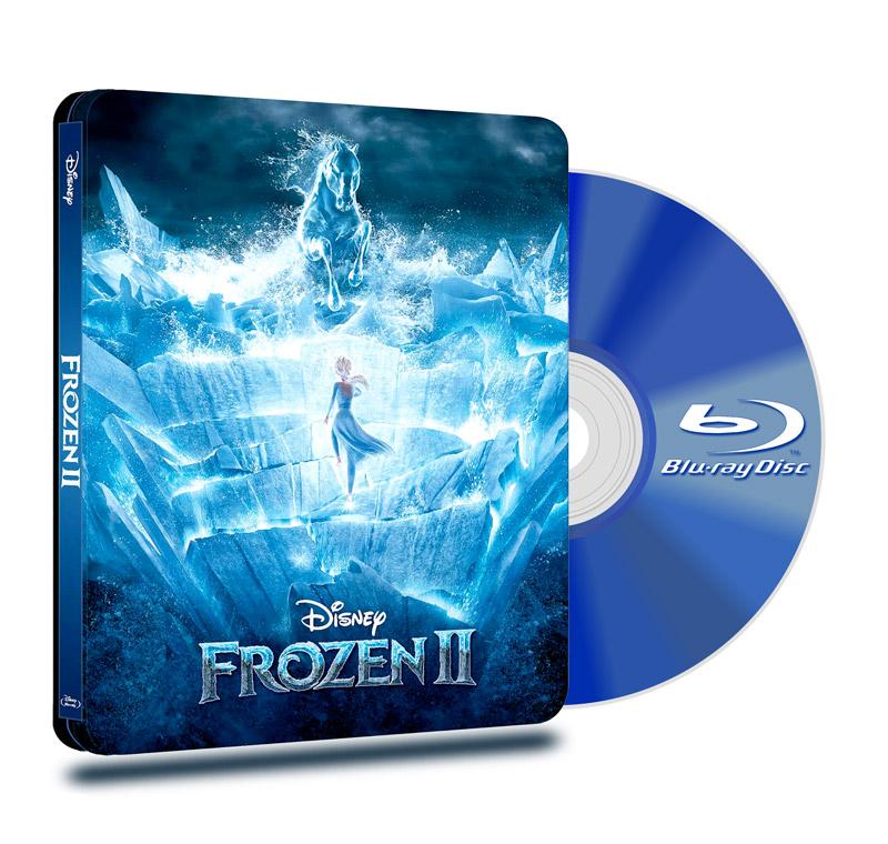 Steel Book Blu Ray Frozen 2 BD+DVD