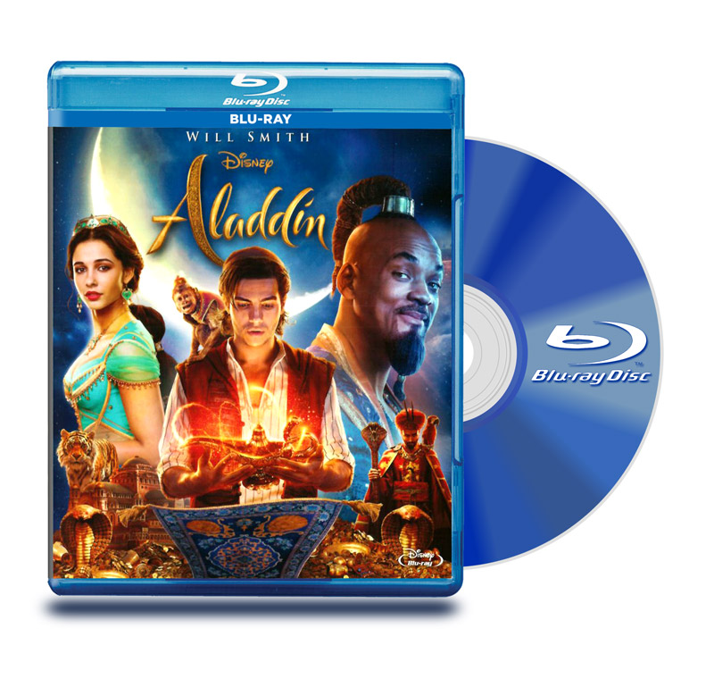Blu Ray Aladdin (Live Action)