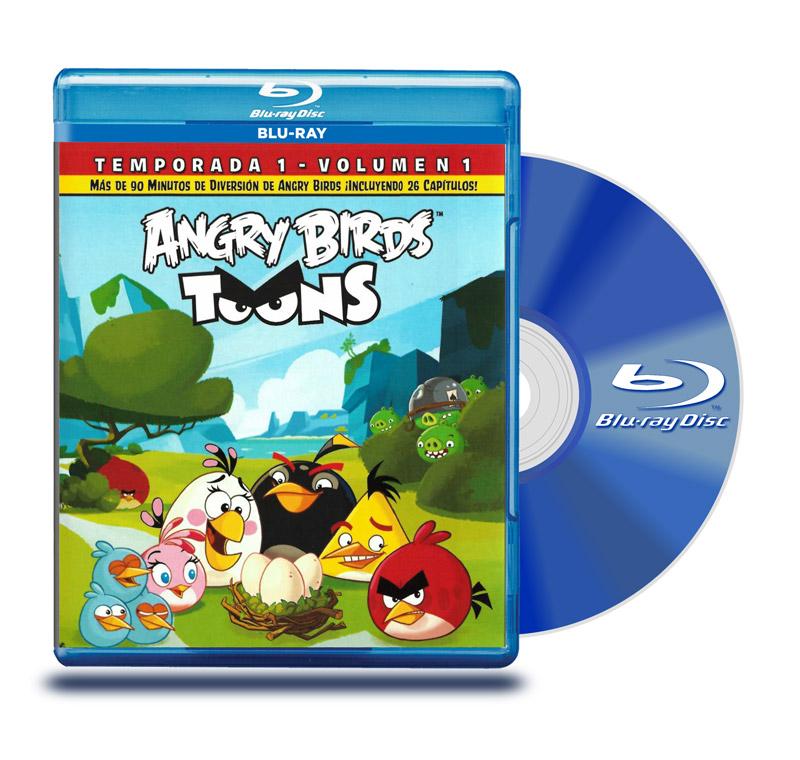 Blu Ray Angry Birds : Temp 1 Vol 1