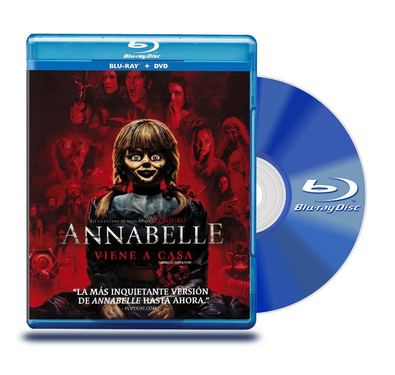 Blu Ray Anabelle : Viene a Casa BD+DVD