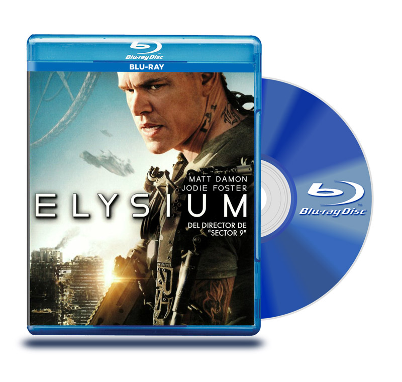 Blu Ray Elysium