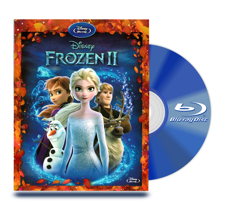 Blu Ray Frozen 2