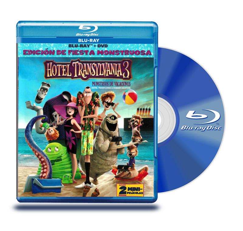 Blu Ray Hotel Transylvania 3 Monstruos de Vacaciones