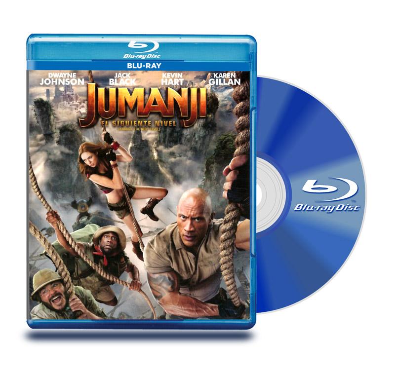 Blu Ray Jumanji El Siguiente Nivel