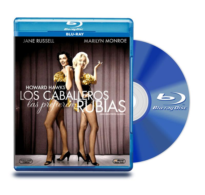 Blu Ray Los Caballeros Las Prefieren Rubias