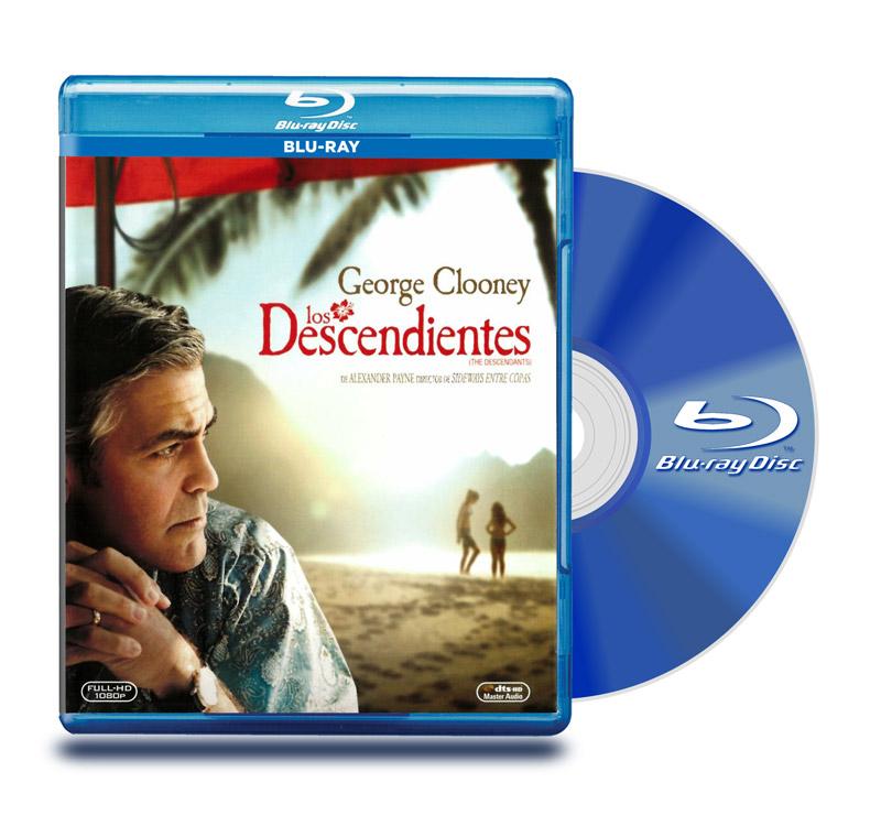 Blu Ray Los Descendientes
