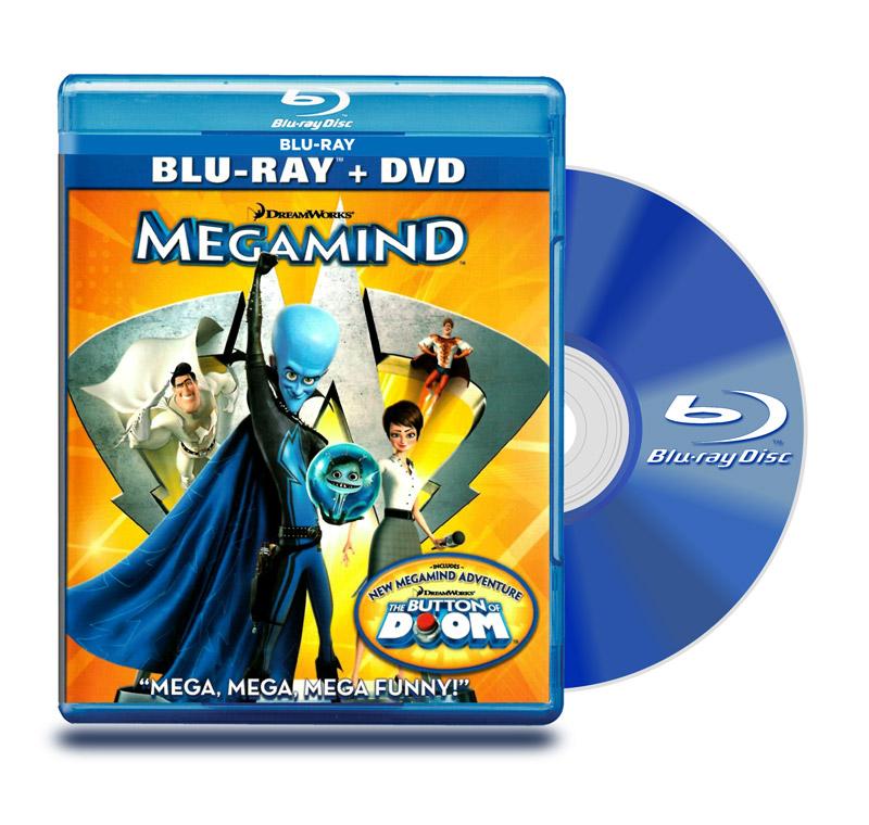 Blu Ray Megamente + DVD