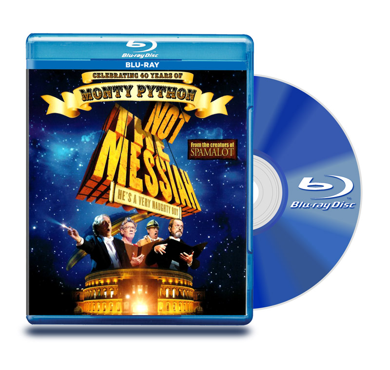 Blu Ray Monty Python : No Es El Mesias