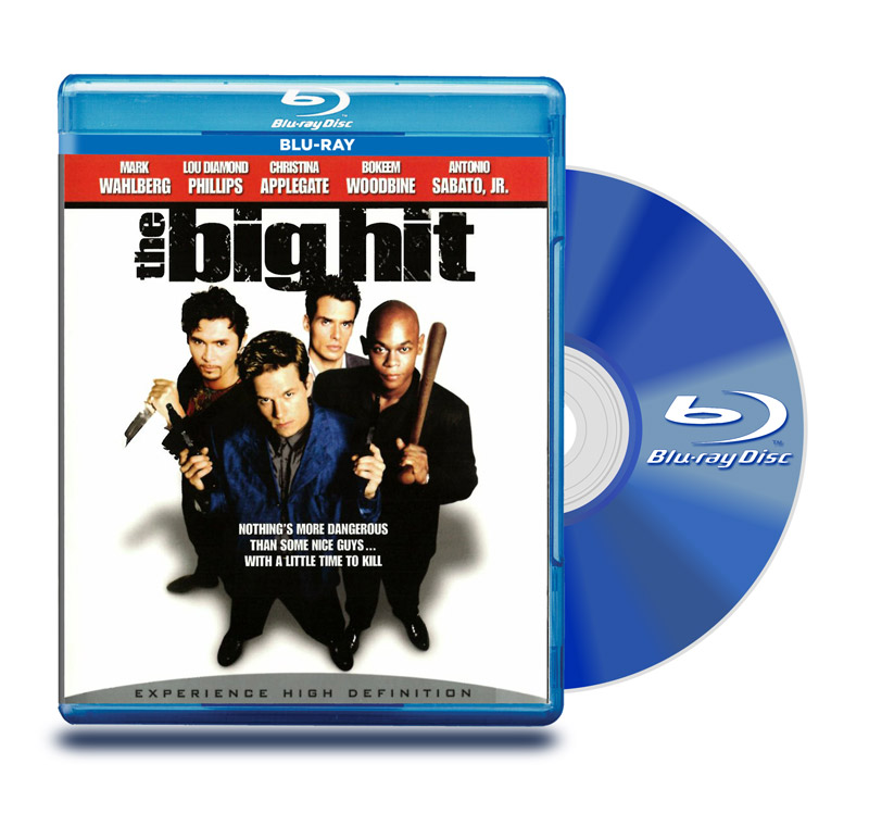 Blu Ray El Gran Golpe (The Big Hit)