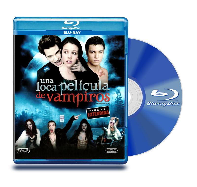 Blu Ray Una Loca Película De Vampiros