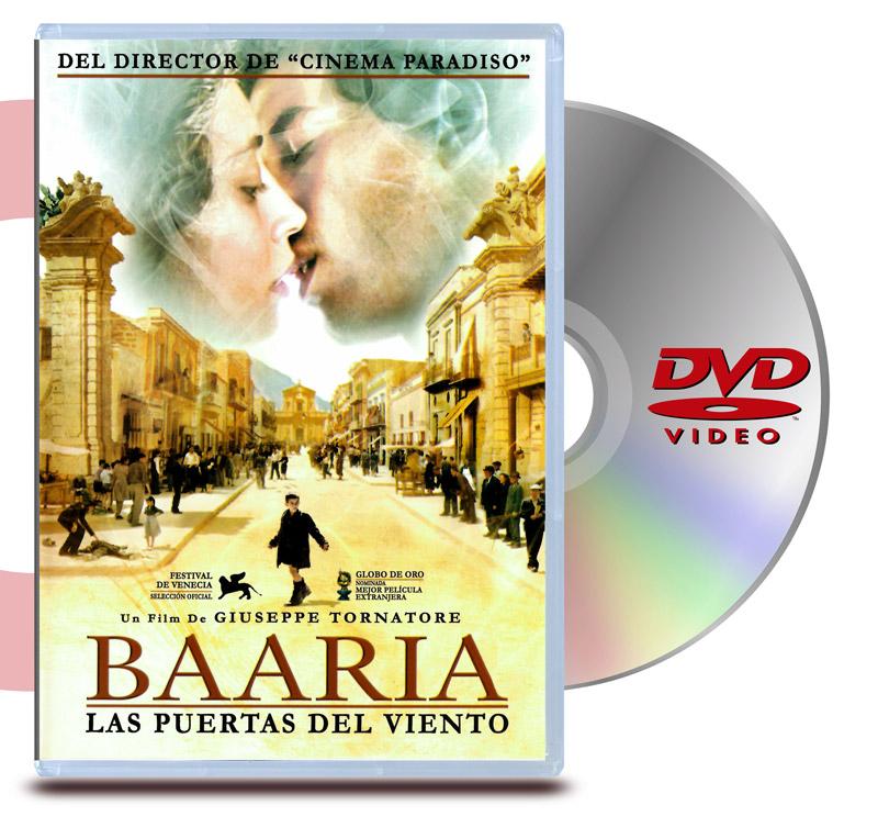 DVD Baaria: Las Puertas del Viento