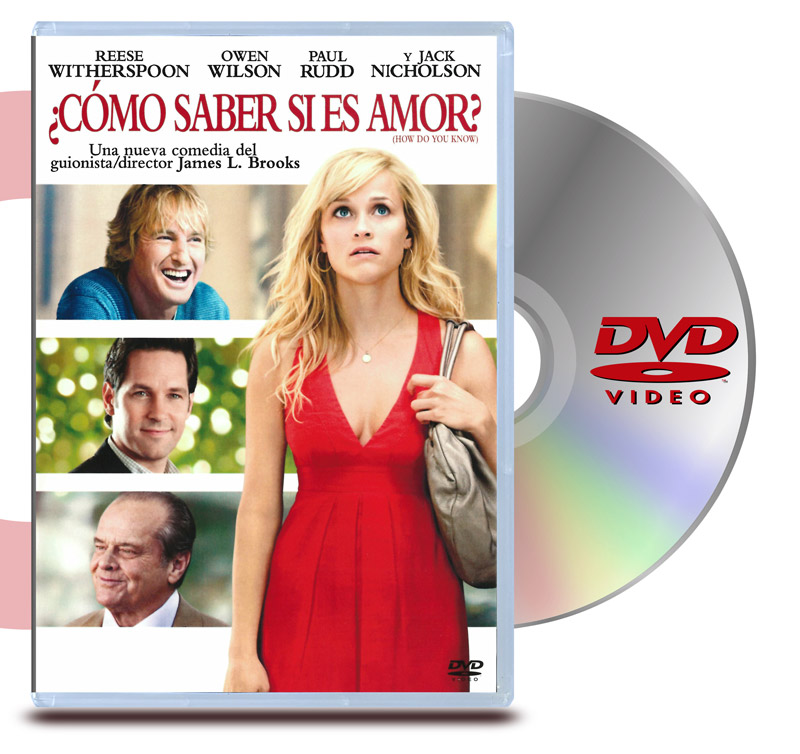 DVD Como Saber Si Es Amor