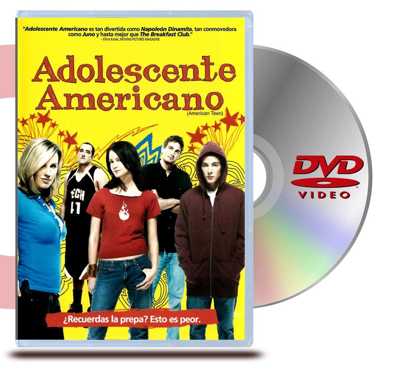 DVD Adolescente Americano