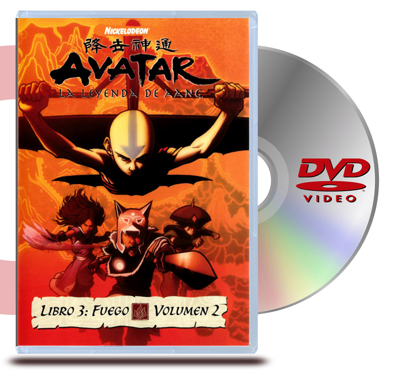 DVD Avatar Libro 3: Vol .2