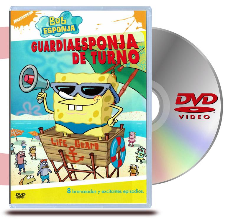 DVD Bob Esponja: Salvavidas Esponjoso